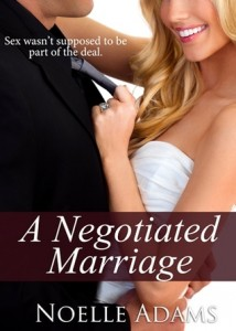 a negotiated marriage cover